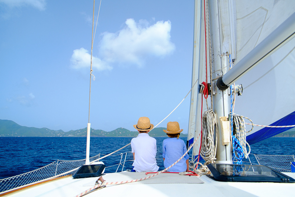 EIGHT GREAT REASONS TO BUY A USED CATAMARAN
