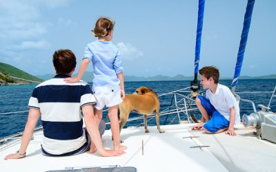 Sailing around the world – with three children